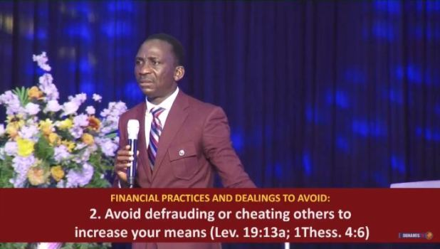 PAUL ENENCHE HEALING DELIVERANCE AND BREAKTHROUGH SERVICE