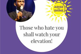 ARISE AND SHINE DR PAUL ENENCHE