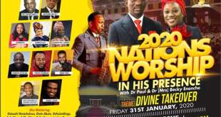 2020 Nations Worship In His Presence with Dr Paul and Dr (Mrs) Becky Enenche
