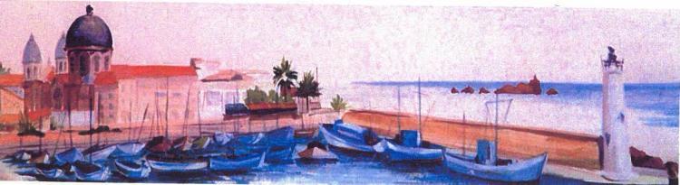 Le port de St Raphaël - 83