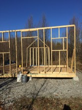 Front of cabin 12-19-15