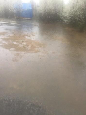 tiny cabin flood