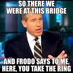NBC Newscaster Brian Williams