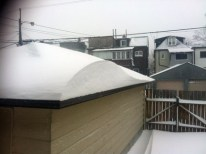 Winter is beautiful but long. Snow drifts
