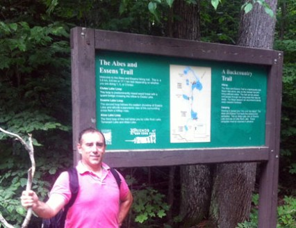 Nature Hike in Bon Echo