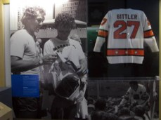 Terry Fox's Sittler jersey