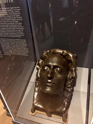 Napoleon Exhibit: Death Mask