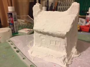 Québec Building - Carving adding details