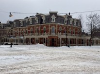 Niagara-on-the-lake after the winter storm