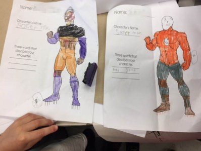 Hero created by a student