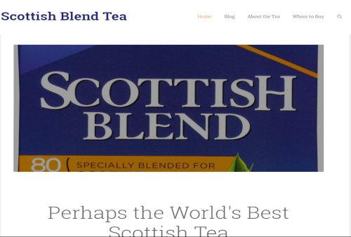 Scottish Blend Tea.com