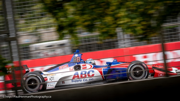 Tony Kanaan at Honda Indy Toronto 2019