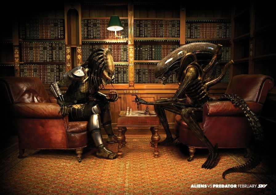 Alien vs. Predator advertisement