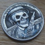 'Ghost Soldier' 1943 USA (steel penny- Lincoln Wheat Cent) 2