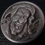 'Joker's Wild' Hobo nickel 1c