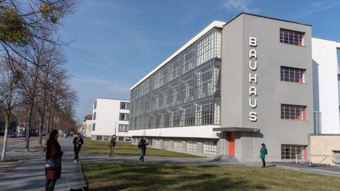 Die weltberühmte Bauhaus-Schule in Dessau