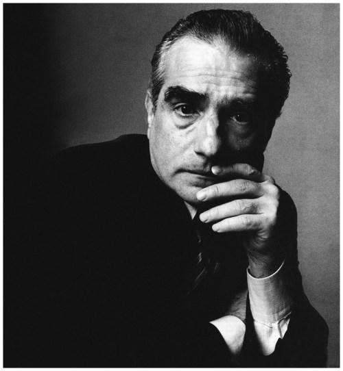Martin Scorsese. Foto: Irving Penn