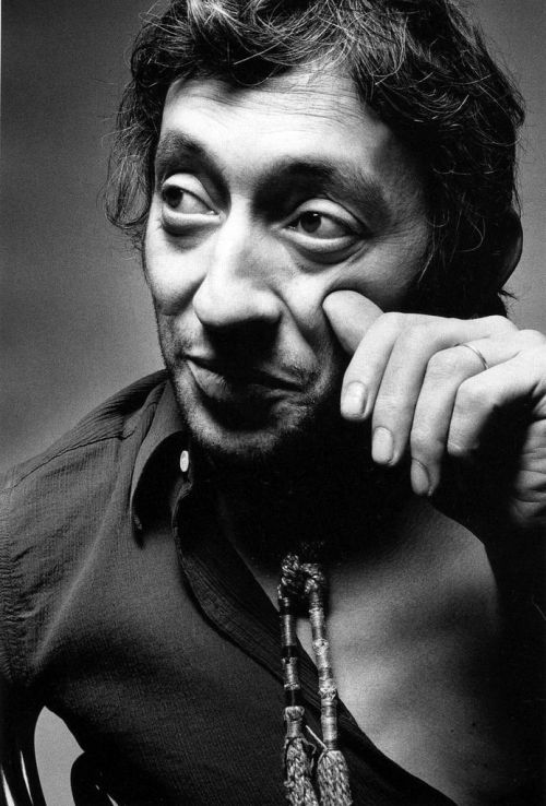 Serge Gainsbourg. Foto: Jeanloup Sieff