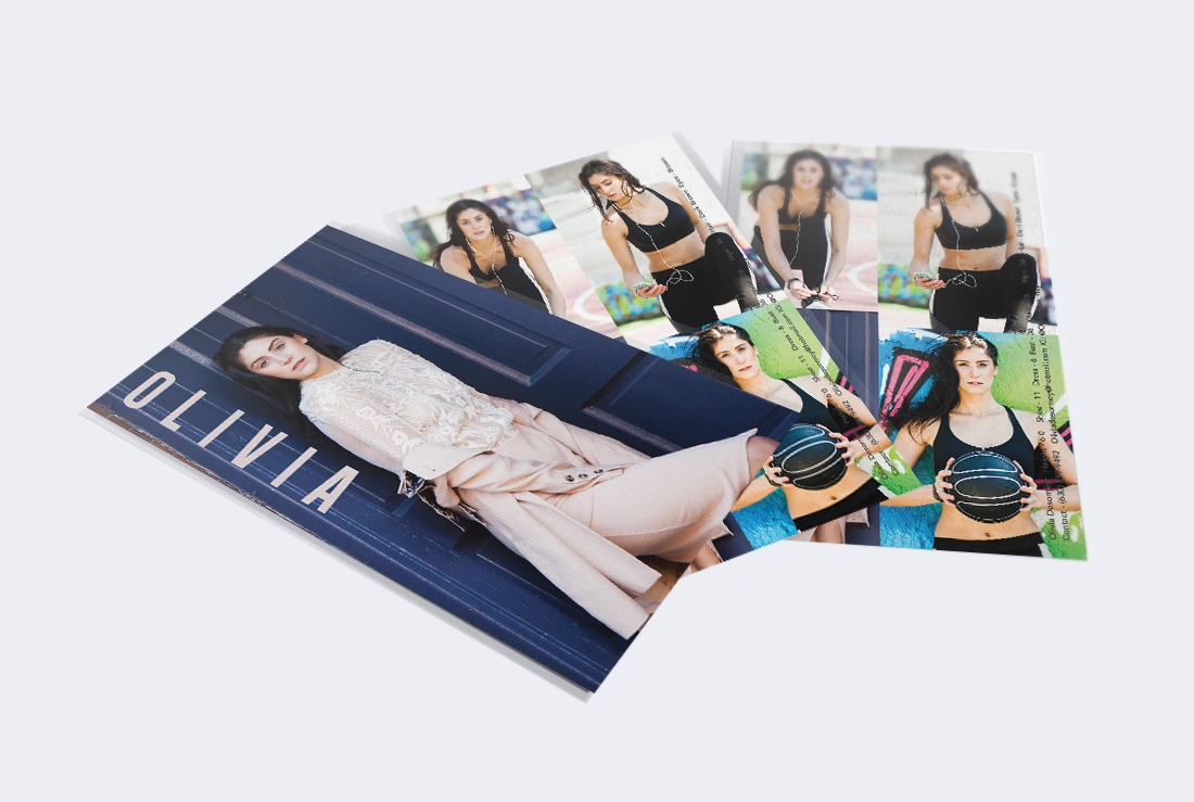 Model Comp Cards