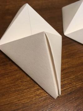 4- triangle lifted crease