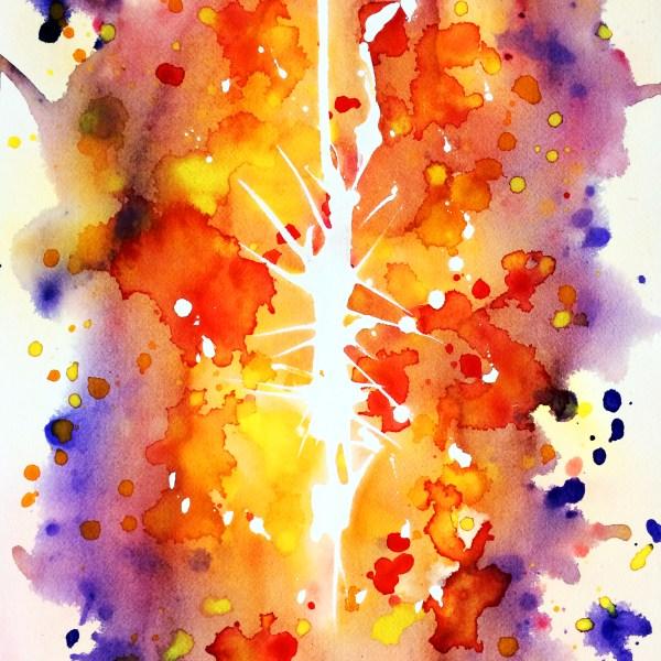 Aquarelles abstraites Mind - Soul Break
