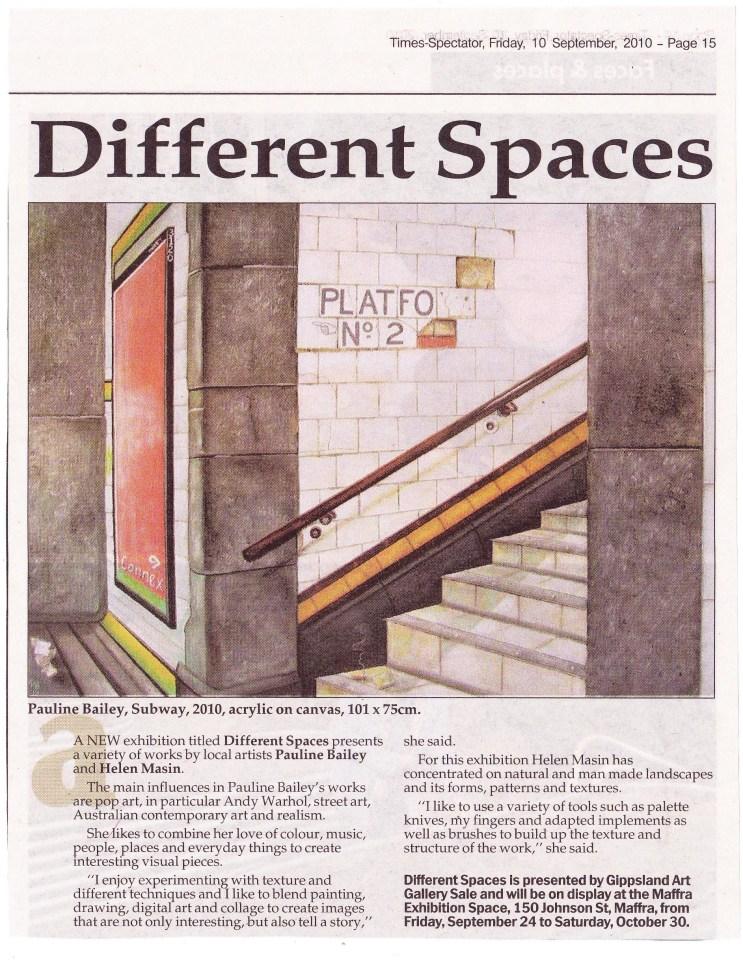 Gippsland Times 10th September 2010