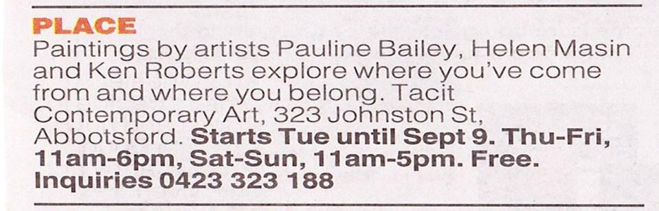 Herald Sun Weekend Liftout 11/8/12