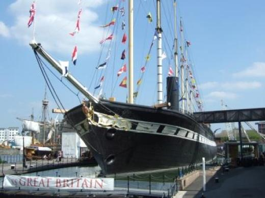 Built by Brunel, SS Great Britain