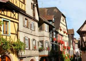 The beautiful village of Riquewihr