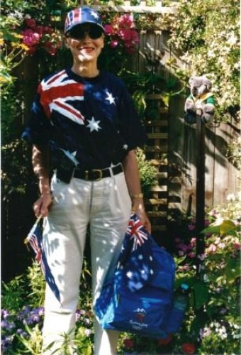 Olympic outfit in 2000!