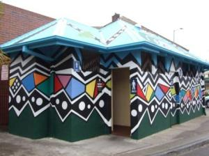 Funky public loos at Blackheath