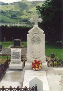 Ben Shadbolt's grave