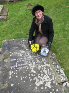 Lucy Marsden's grave