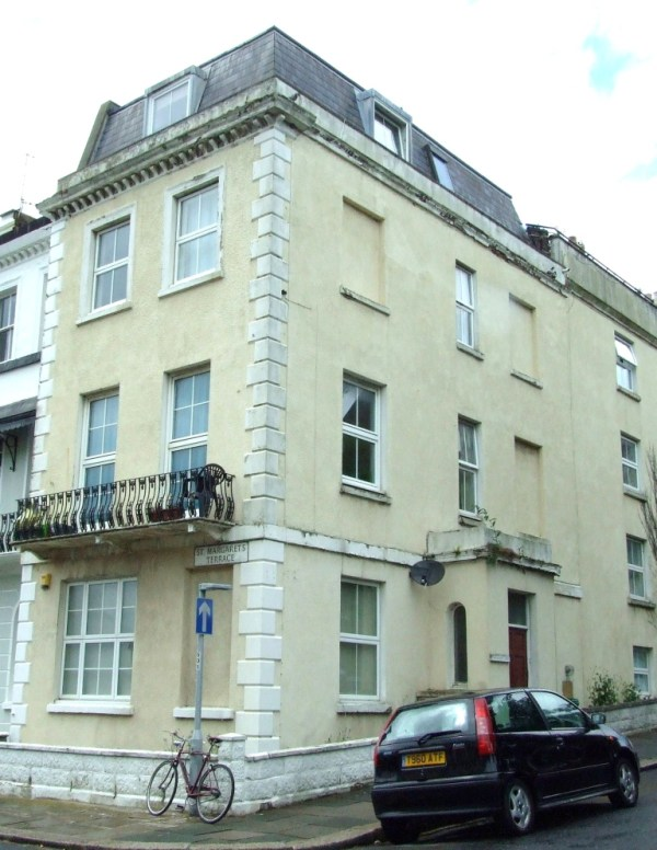 No. 1 St Margaret's Terrace, St Leonards - where Rosa and Alice Marsden were lodging.