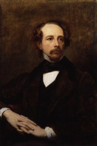 Ary Scheffer's 1855 portrait of Dickens. (Wikipedia)