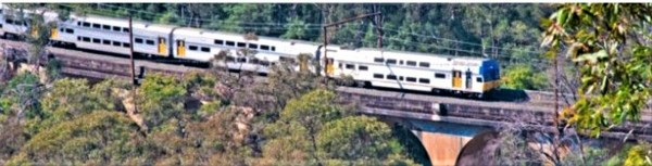 Blue Mountains train.