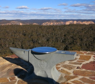 nvil rock, Blue Mountains