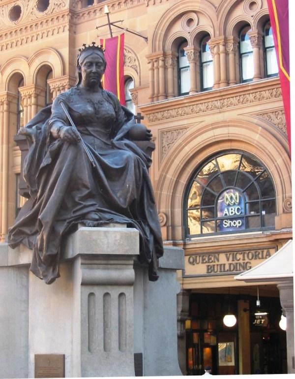 Queen Victoria Statue in Sydney