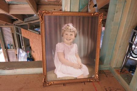 Pauline Conolly, aged three. A gift from my grandmother Alice.