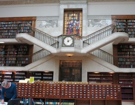 The historic Reading Room at the Mitchell Library.