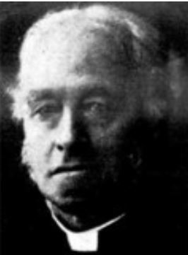 The Rev. Chase, who took William Wimmera to England.