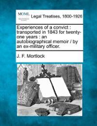 Memoir of John Mortlock