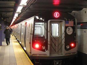 The E-Train -barely any gap!