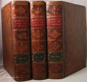 The three Vol. biography
