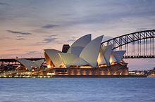 Sydney Opera House before being 'tailored' (Wikipedia)
