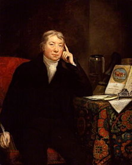 Edward Jennner  created the vaccine against smallpox.(Wikipedia)