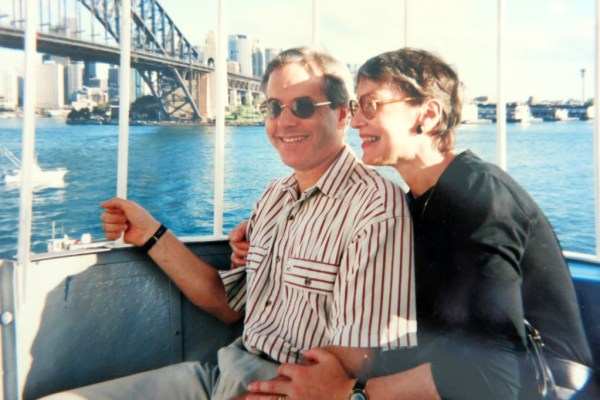 On the ferris wheel at Luna Park, circa 1990