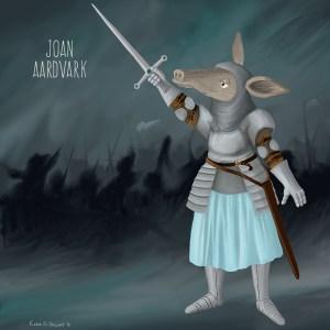 Joan AardvarkSMALL