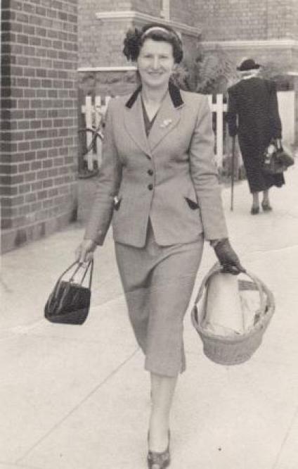 Myra Allen (nee Larcombe)