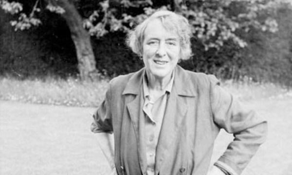 Vita Sackville-West at Sissinghurst, in 1960.